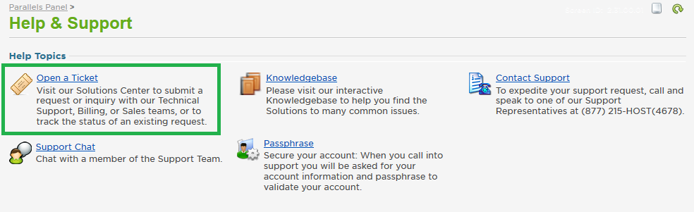 How to Submit a Support Ticket Solutions Knowledge Base